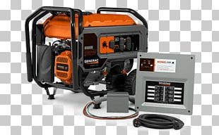 Generac Power Systems Transfer Switch Engine-generator Standby Generator Electric Generator PNG