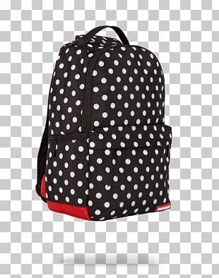 Polka Dot Bag T-shirt Dress Backpack PNG