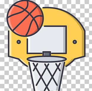 Outline Of Basketball NBA Sports PNG