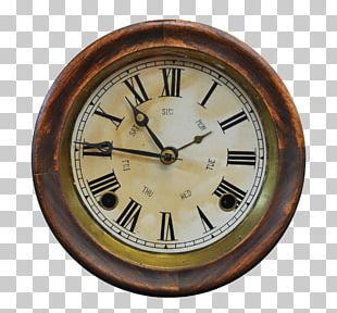 Clock Face Antique Table Stock Photography PNG