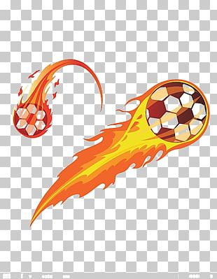 Soccer Fire PNG