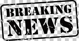 Breaking News Newspaper Stock Photography PNG