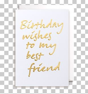 Greeting & Note Cards Birthday Gift Friendship PNG