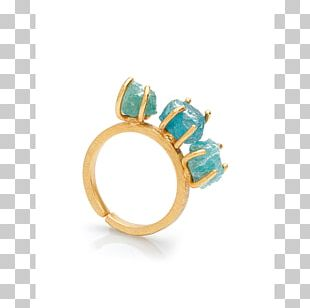 Turquoise Ring Apatite Body Jewellery PNG