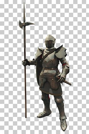 Middle Ages Knight Warrior Stock Illustration PNG