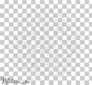 White Point Circle Pattern PNG
