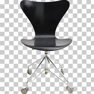 Model 3107 Chair Egg Ant Chair Swivel Chair PNG