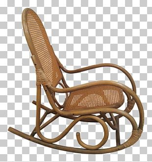 Rocking Chairs Eames Lounge Chair Wicker Rattan PNG