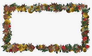 Christmas Christmas Decoration Frame PNG