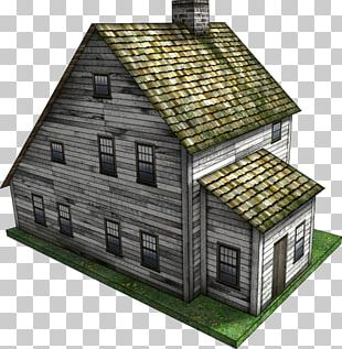 Harpers Ferry Saltbox House Shed Wargaming PNG