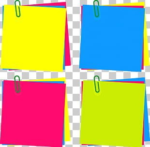 Post-it Note Paper Sticker PNG