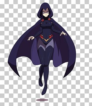 Raven Teen Titans DC Comics Art Superhero PNG