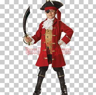 Captain Hook Halloween Costume Child PNG
