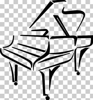 Piano Drawing Music PNG