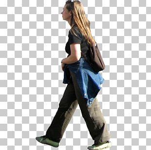Walking Woman Jogging PNG