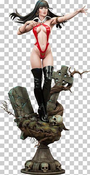 Vampirella Figurine Statue Model Figure Sculpture PNG