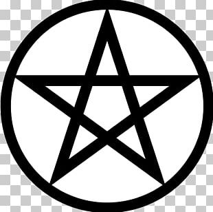 Pentagram Pentacle Wicca Symbol Satanism PNG