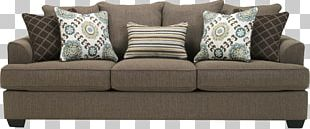Couch Ashley HomeStore Cushion Sofa Bed Furniture PNG