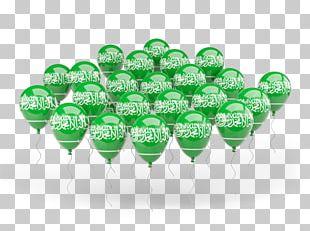 Flag Of Saudi Arabia Balloon PNG