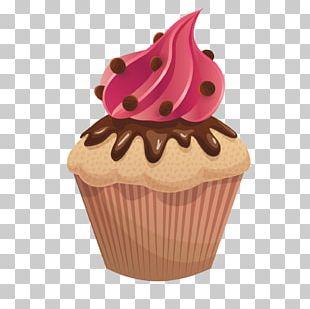 Cupcake Chocolate Cake Ice Cream Cake Torta PNG