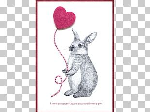Domestic Rabbit Paper Hare Stationery PNG