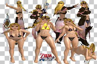 Princess Zelda Universe Of The Legend Of Zelda Bikini PNG