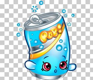 Fizzy Drinks Shopkins Food Coloring Book Moose Toys PNG