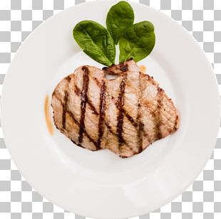 Barbecue Steak Colieri French Fries Dish PNG