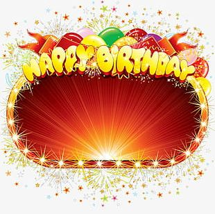 Happy Birthday Frame PNG