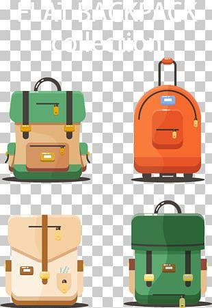 Bag Backpack Suitcase Travel PNG