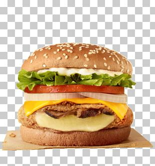 Veggie Burger Whopper Hamburger Cheeseburger Burger King PNG