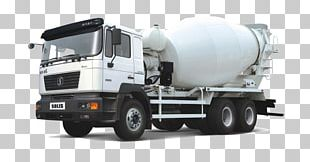 Cement Mixers Ready-mix Concrete Concrete Pump PNG