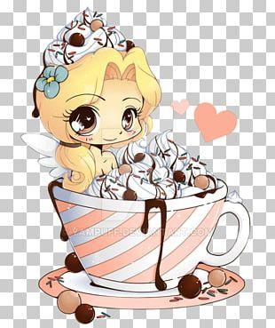 Chibi Hot Chocolate Drawing PNG
