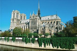 Notre-Dame De Paris Sainte-Chapelle Chartres Cathedral Seine Florence Cathedral PNG