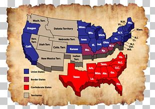 Southern United States Confederate States Of America Union American Civil War Emancipation Proclamation PNG