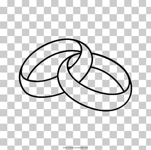 Wedding Ring Marriage Drawing PNG