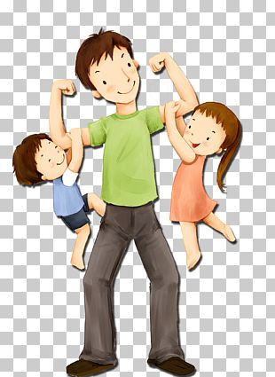 Father's Day Sunday Child Illustration PNG