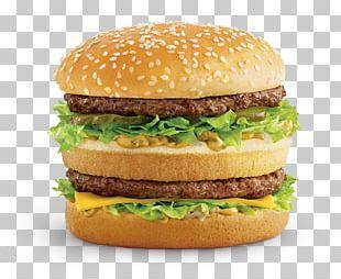 McDonald's Big Mac McDonald's Quarter Pounder Hamburger McDonald's Chicken McNuggets Wrap PNG