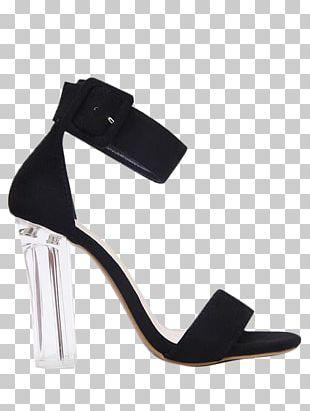 Sandal Shoe Heel Strap Buckle PNG