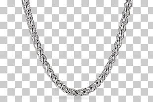 Necklace Silver Chain Jewellery Amazon.com PNG