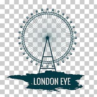 London Eye Cartoon PNG
