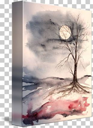 Watercolor Landscape Watercolor Painting Landscape Painting Drawing PNG