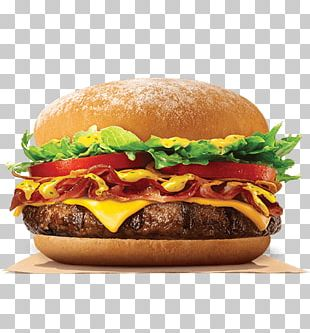 Cheeseburger Whopper Hamburger Bacon Burger King PNG
