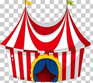 Clown Carnival Illustration PNG