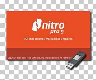 Nitro PDF Computer Program Portable Application Document PNG