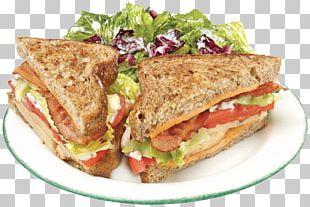 Breakfast Sandwich BLT Melt Sandwich Fast Food Vegetarian Cuisine PNG