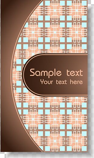Graphic Design Business Card Pattern PNG