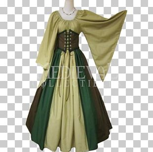 Middle Ages Dress Clothing Costume Fashion PNG
