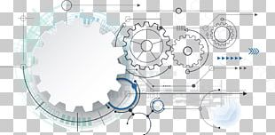 Gear Technology Illustration PNG