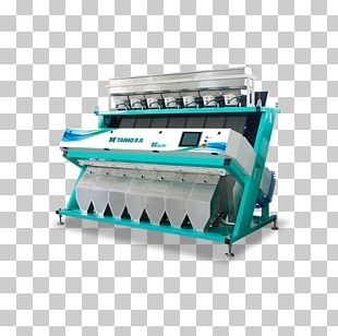 Colour Sorter Rice Color Sorting Machine Industry Optical Sorting PNG